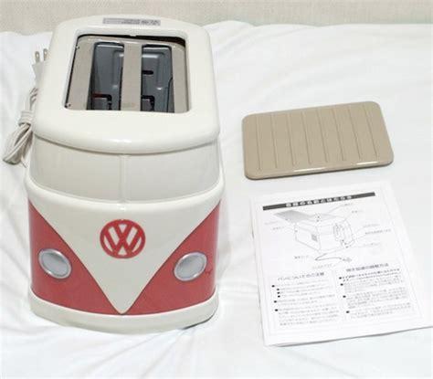Toaster Makes Groovy Volkswagen Minibus Toaster Makes Vw Toast