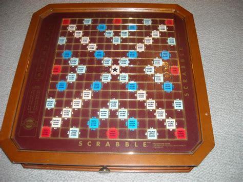 franklin mint scrabble table scrabble franklin mint luxury board oak bay