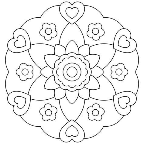 imagenes de mandalas rosas dibujos de mandalas de flores para imprimir mandalas