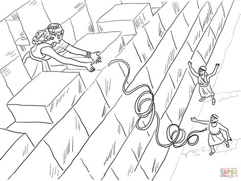 Rahab Coloring Page 1000 images about rahab on scarlet maze