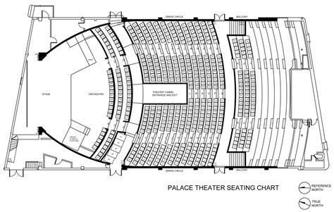 orchestra section seating seating chart the palace theater hilo hawaii