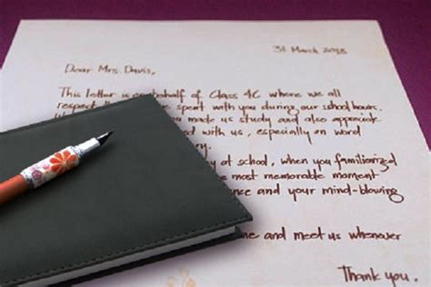 Thank You Letter Definition how to write a thank you letter to a definition