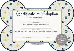 free puppy birth certificate template the pet adoption certificate can help you make a