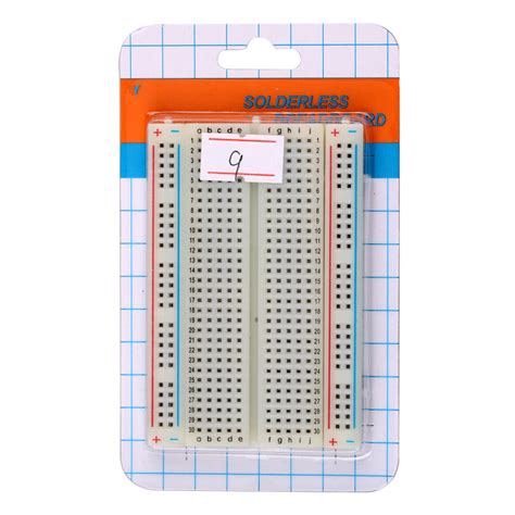 Solder Gas By Obd2 wholesale solderless breadboard with 400 tie points
