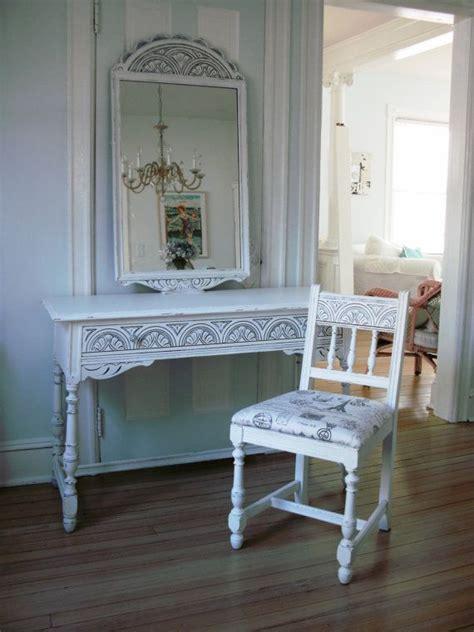 desk vanity hallway table antique shabby chic furniture