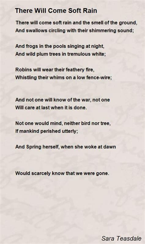 There Will Come Soft Rains Essay by There Will Come Soft Rains Worksheet Resultinfos
