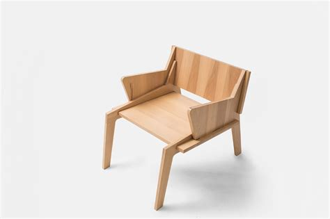 Handmade Wooden Chairs - handmade wooden furniture by collaptes design milk