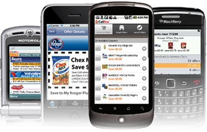 Cellfire Brings Coupons To Mobiles by Grocery Coupons