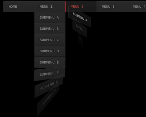 drop menu templates free whirling css3 dropdown menu