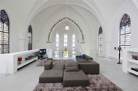 churches converted into modern family homes bored panda