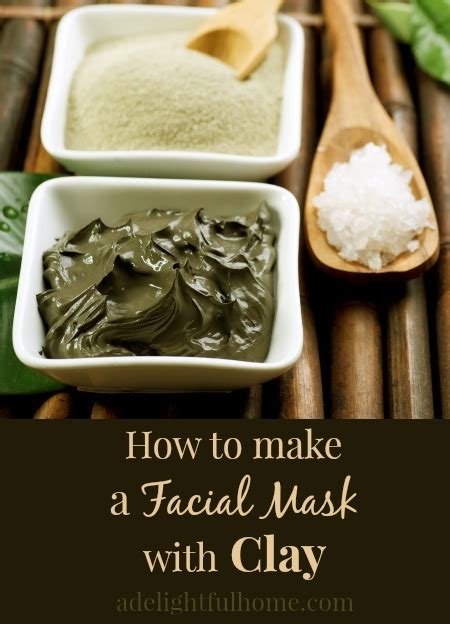 Moisturizing Diy Clay Mask Recipe Rosehip Clay Masks And Masking How To Make Masks With Clay A Delightful Home