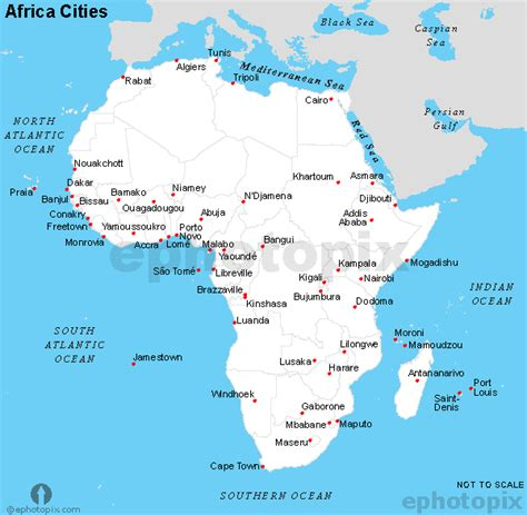 africa map major cities africa cities map black and white cities map of africa