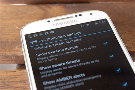 emergency alerts android how to disable or enable emergency alerts on android phones