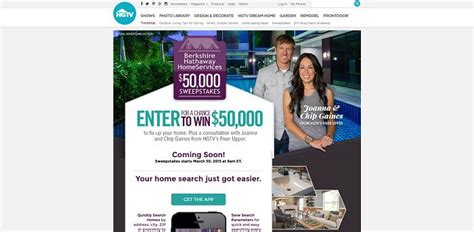 Berkshire Hathaway Sweepstakes - hgtv berkshire hathaway homeservices 50 000 sweepstakes 50kfixup com