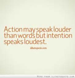 quotes about words and actions quotesgram
