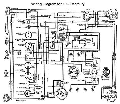 ford mercury wiring diagram flathead engine