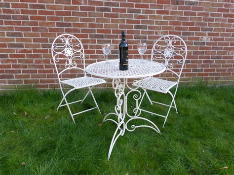 cream garden bench cream ornate folding metal 2 seater garden bench garden