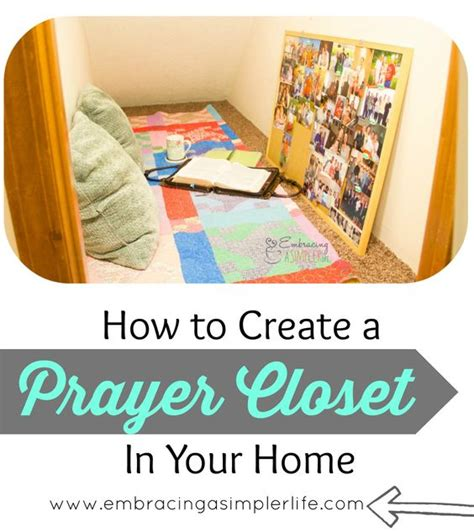 the whys and hows of a prayer closet alone time prayer