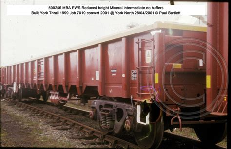 P Mills Mba by Paul Bartlett S Photographs Mba Bogie Mineral Wagons