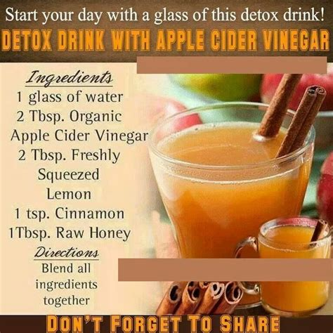 Speed Detox Drink by 1000 Ideas About Vinegar For Weight Loss On