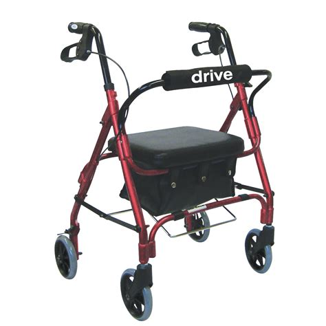 rollator with seat junior rollator walker with padded seat and backrest