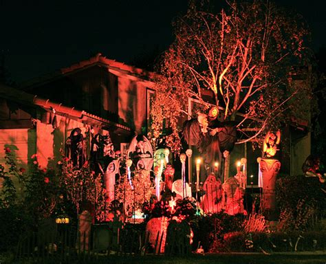 homes decorated for halloween is your house decorated for halloween popsugar home