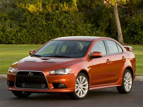 mitsubishi ralliart lancer x ralliart sedan 10th generation lancer