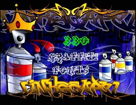 graffiti fonts graffiti tutorial