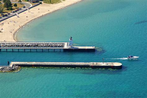 boat slips for rent charlevoix charlevoix pier lighthouse in mi united states
