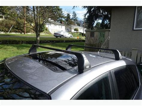 2008 Mazda 3 Roof Rack by 2004 2008 Mazda 3 Oem Locking Roof Racks City