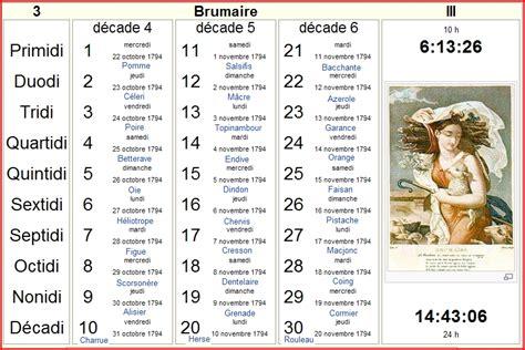 Brumaire Calendrier Aubusson D Auvergne Calendrier R 233 Publicain Fran 231 Ais Les