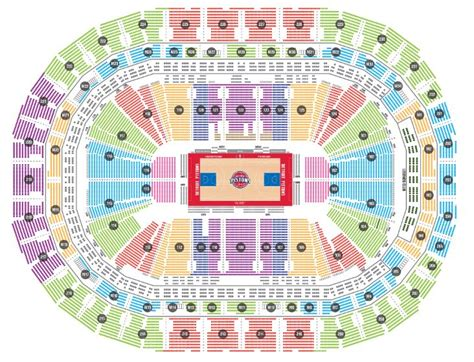 Caesars Palace Suites Floor Plans by Detroit Pistons Seating Chart Brokeasshome Com