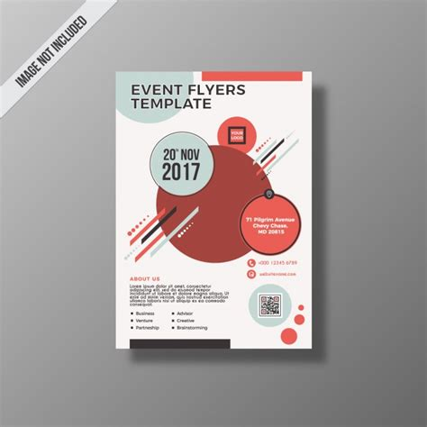design event flyer free business event flyer design vector free download