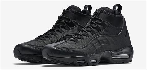 nike air max sneaker boot the nike air max 95 gets a winterized boot makeover