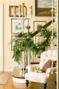 Christmas Garland On Banister New Christmas Decorating Ideas Home Bunch Interior