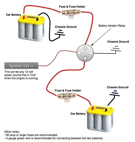 battery isolation solenoid wiring diagram 41 wiring