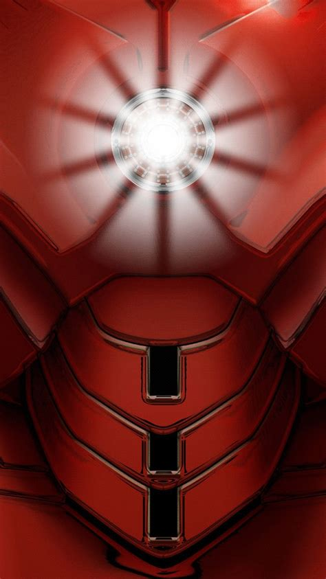 iron man armor arc reactor iphone wallpaper iphone