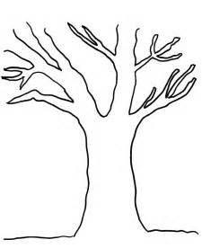 Bare Tree Template by Bare Tree Template Cliparts Co