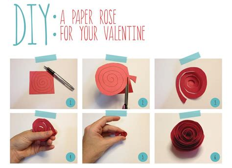 How To Make Paper Roses Step By Step With Pictures - how to make paper roses step by step