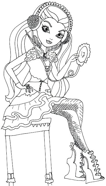 ever after high raven queen legacy day coloring pages free printable ever after high coloring pages free