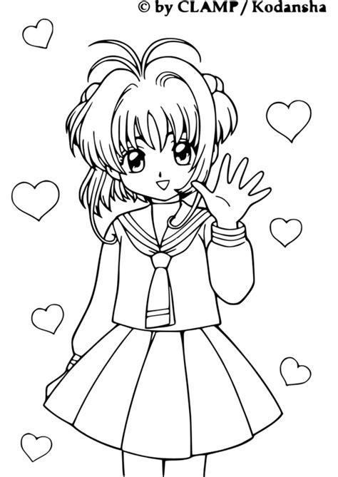 127 dessins de coloriage Manga à imprimer