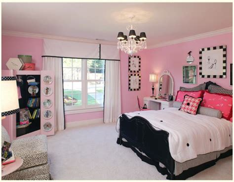 pink and black girls bedroom ideas pink black girls rooms design dazzle