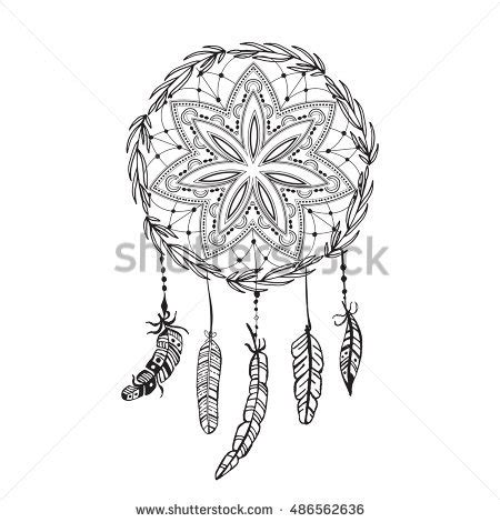 american inspired coloring book dreamcatcher 50 tribal mandalas patterns detailed designs books dreamcatcher stock images royalty free images vectors