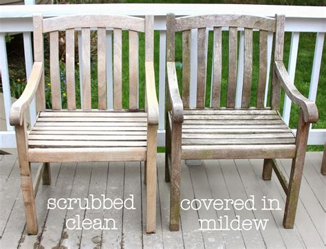 Cleaning Teak Furniture by Shine Your Light Cleaning Sealing Outdoor Teak Furniture