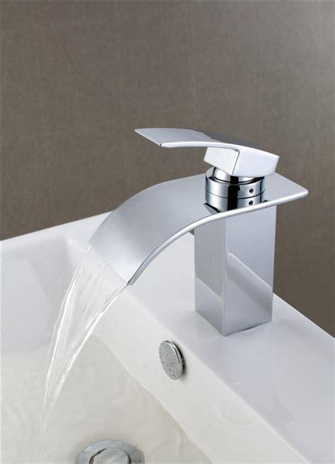 New Monobloc Modern Chrome Bathroom Basin Sink Mixer Taps