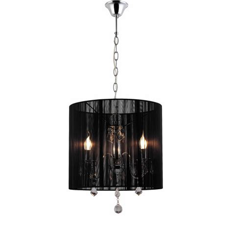 chandelier with black shade pairs 3 lights chandelier with black shade temple webster