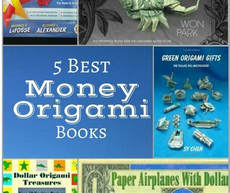 Best Origami Books - 5 best money origami books fave