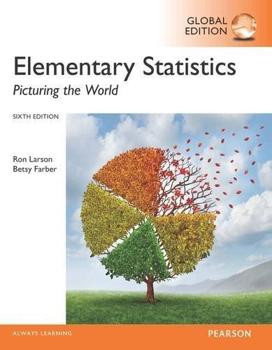 elementary statistics picturing the world 7th edition books technobooks on usa marketplace pulse