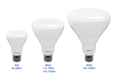 r30 light bulb dimensions bymea lighting 18w 1100lm ul br40 br30 r20 with ul es cul