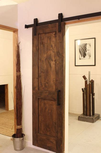 Rustica Barn Door Hardware Modern Barn Door By Rustica Hardware Rustic Home Decor